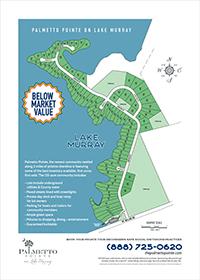 Community Plat: Palmetto Pointe on South Carolina's Lake Murray